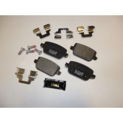 Klocki hamulcowe tylne Ford Mondeo IV s-max Premium Zestaw