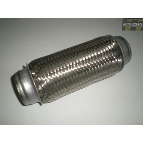 Tłumik rura elastyczna - plecionka wydechu 200x50