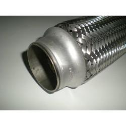 Tłumik rura elastyczna - plecionka wydechu  50x100 - do wspawania